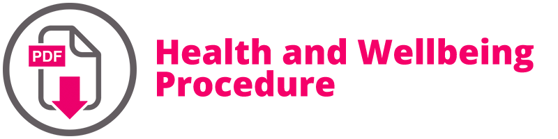 Health and Wellbeing Procedure